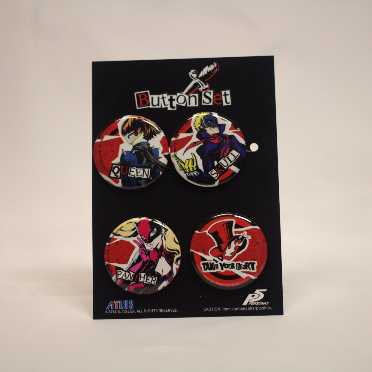 Final Finish Button Set B