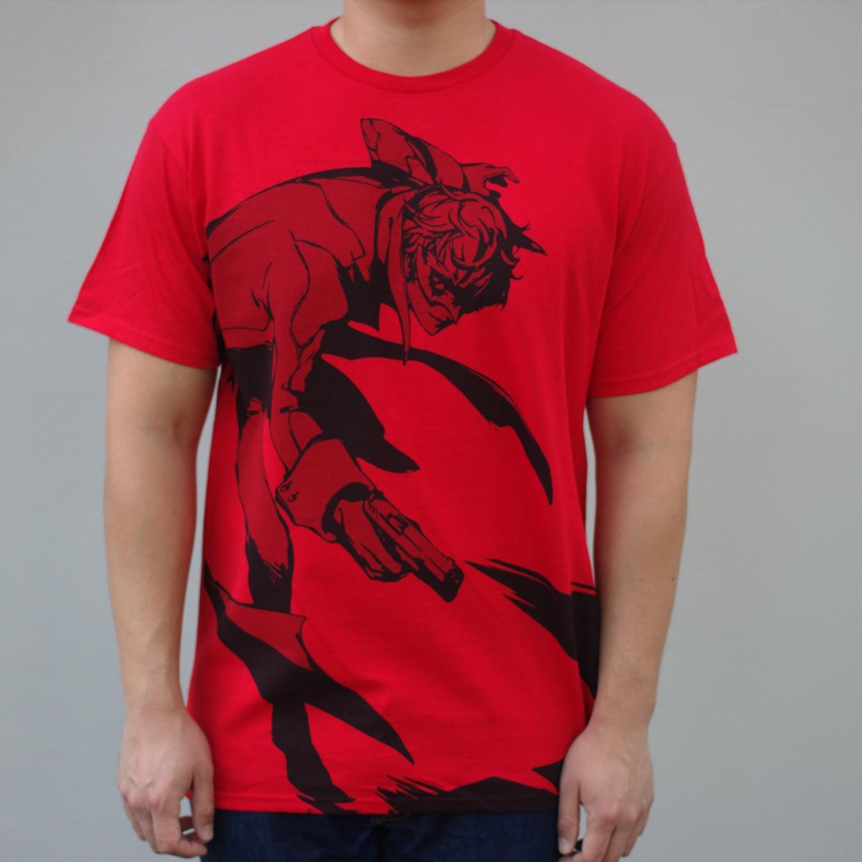 Premium Belt Print Protagonist Shirt XXL