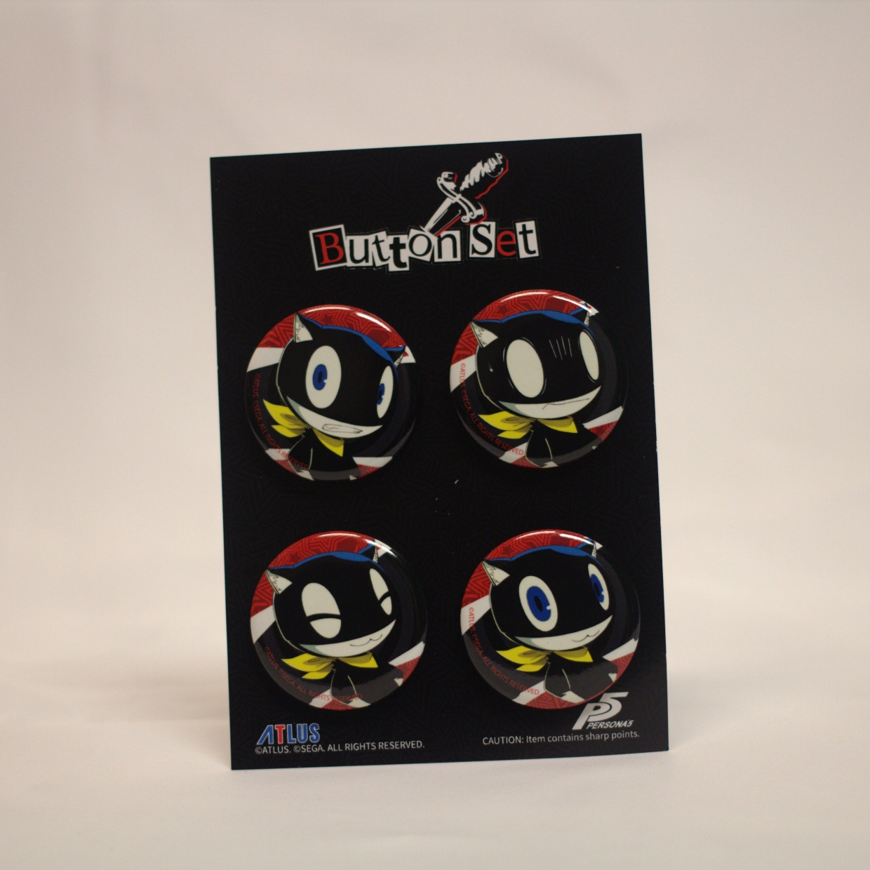 Morgana Expressions Button Set A