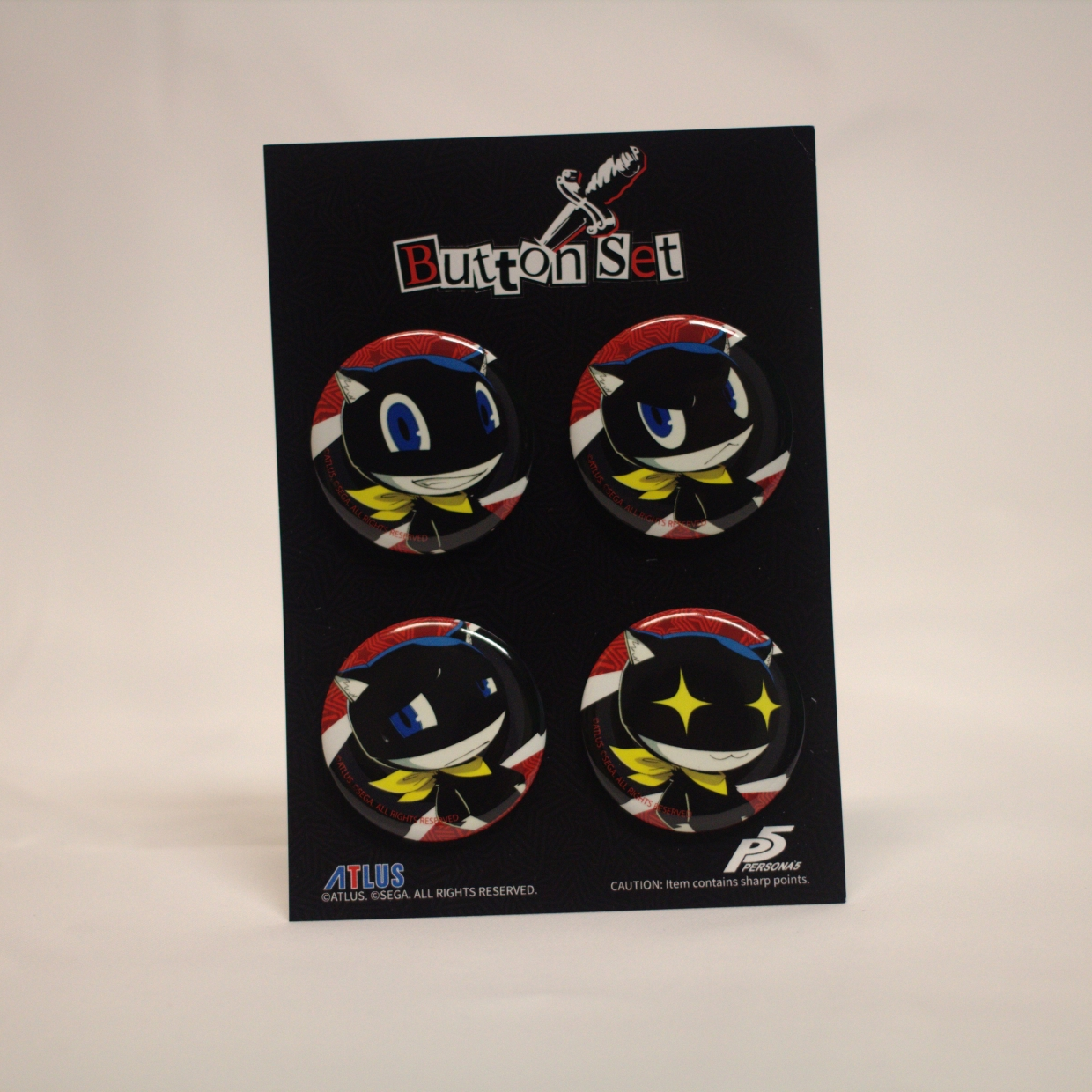 Morgana Expressions Button Set B