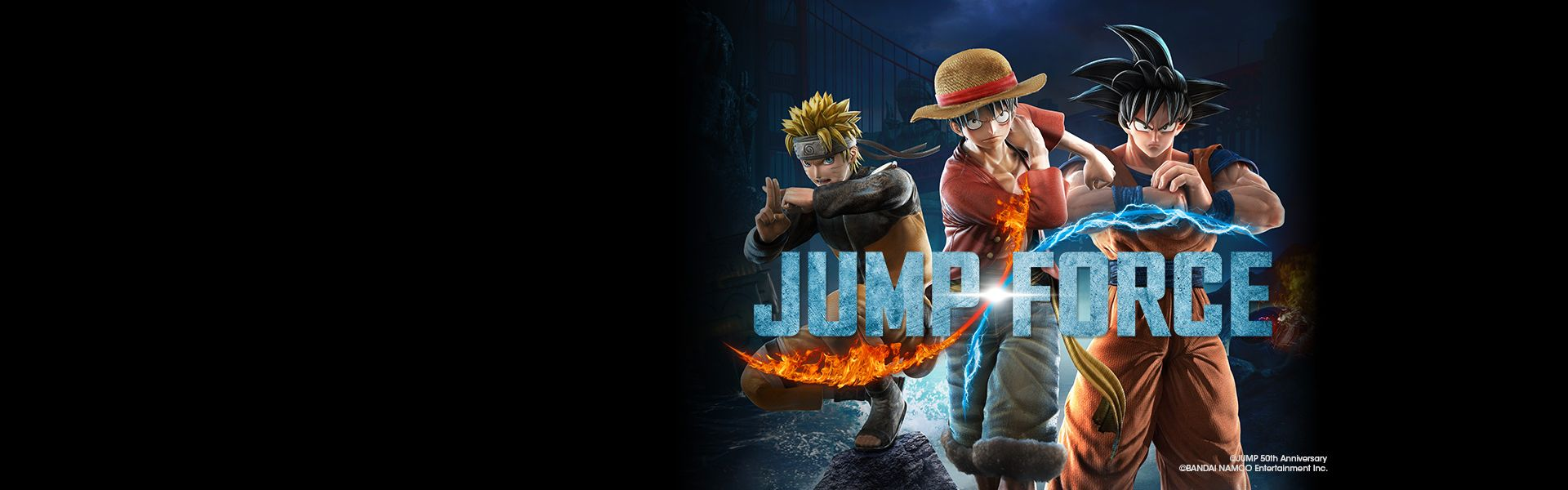 JUMP FORCE: Download the exclusive DLC!