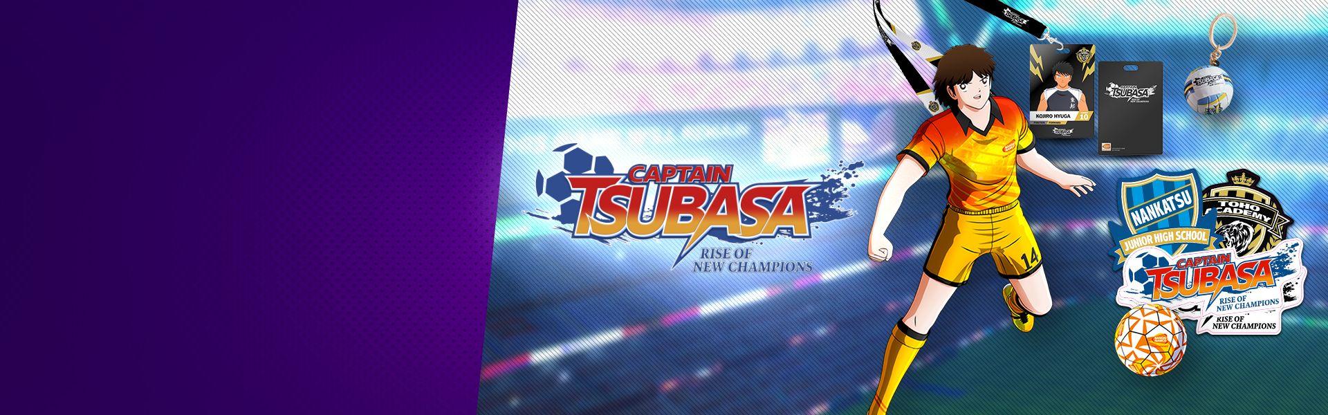 Get your Captain Tsubasa rewards!