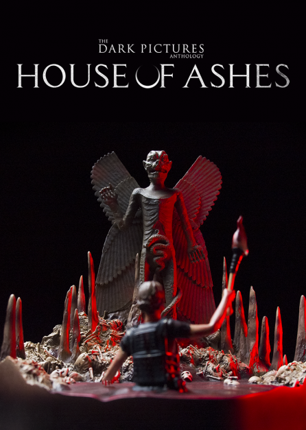 THE DARK PICTURES : HOUSE OF ASHES DIORAMA