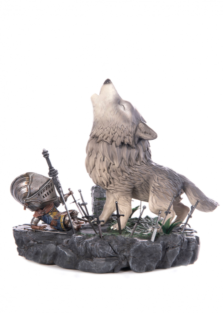 DARK SOULS - THE GREAT GREY WOLF SIF STATUE (DEFINITIVE EDITION)