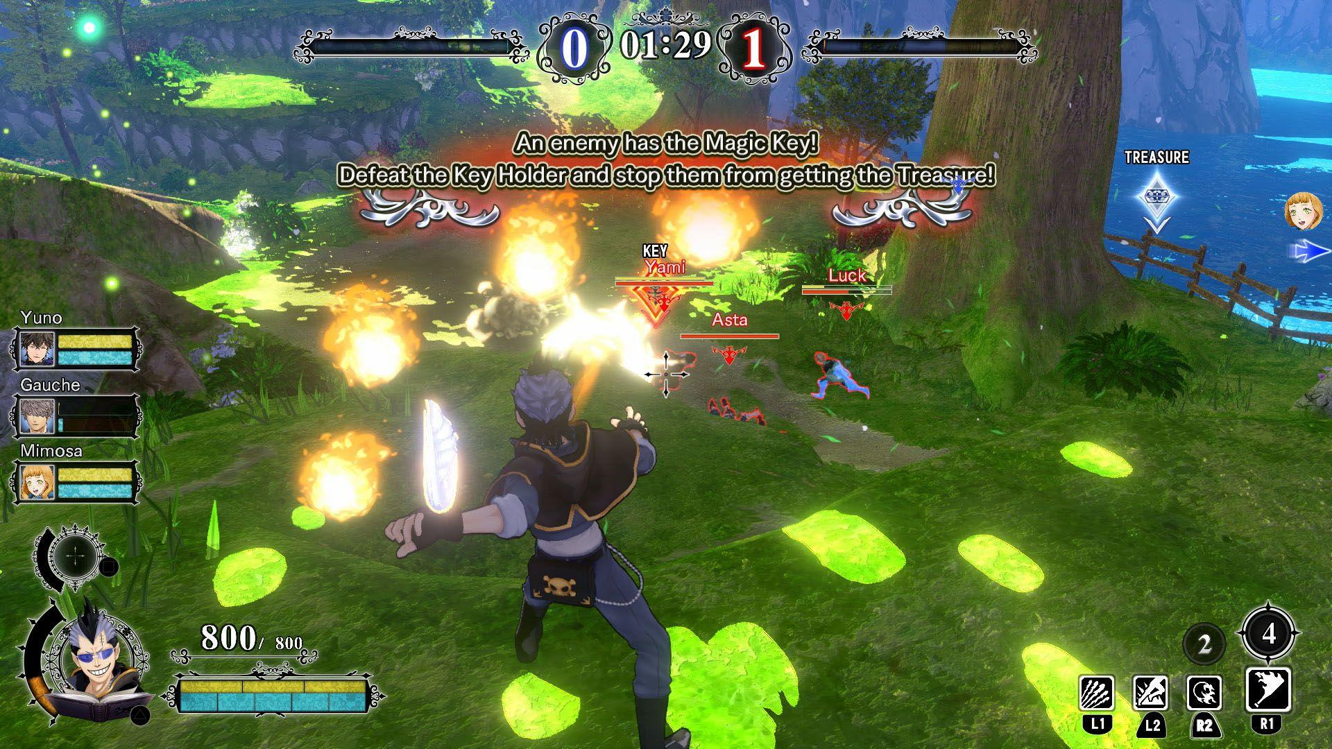 black clover browser game