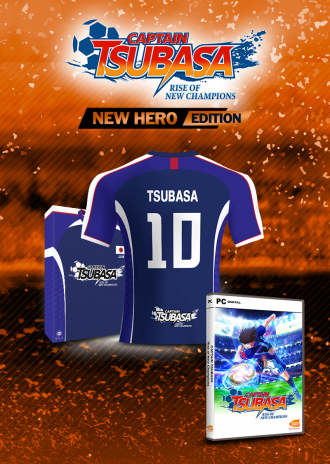 CAPTAIN TSUBASA - New Hero Edition - Official jersey [PC]