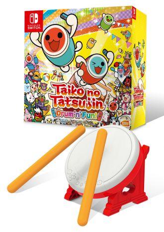 Caja del tambor Taiko - Switch Tatakon