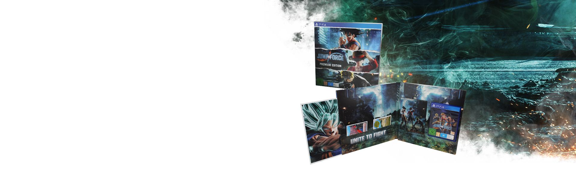 JUMP FORCE - PREMIUM EDITION [PS4]