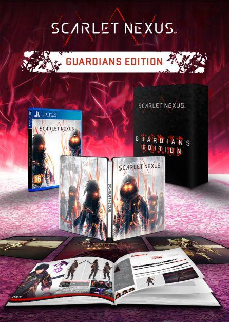 SCARLET NEXUS - Guardians Edition [PS4]