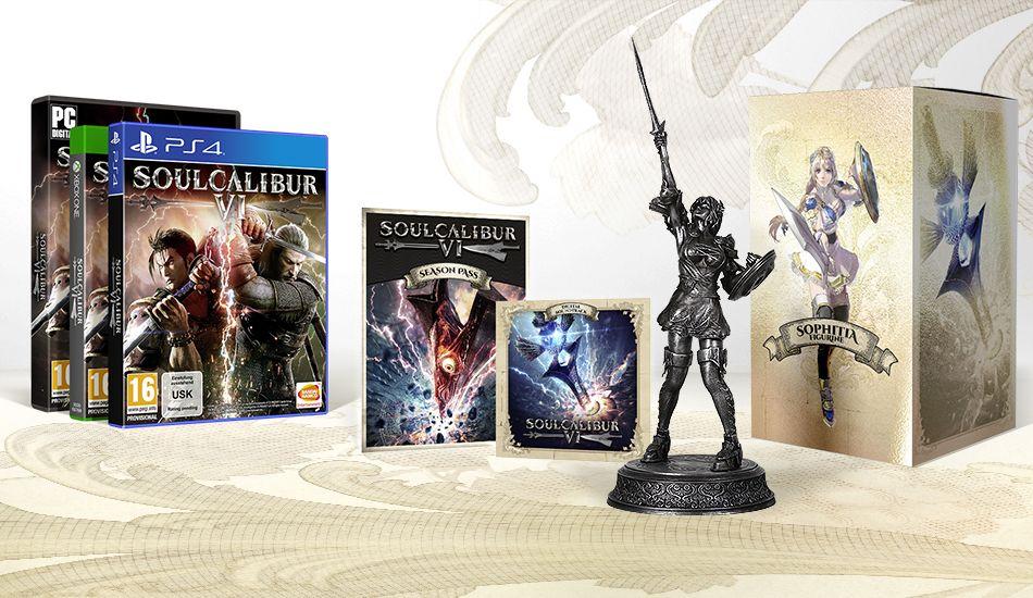 SOULCALIBUR VI - LIMITED SILVER COLLECTOR EDITION [PS4] | Bandai Namco  Store Europe