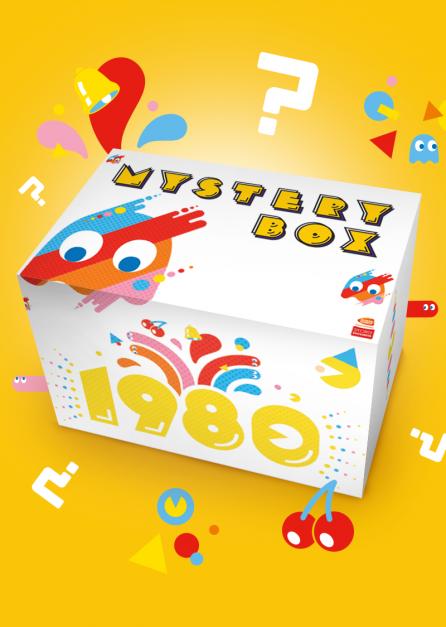 Pac-Man Boite Mystère – 40e anniversaire