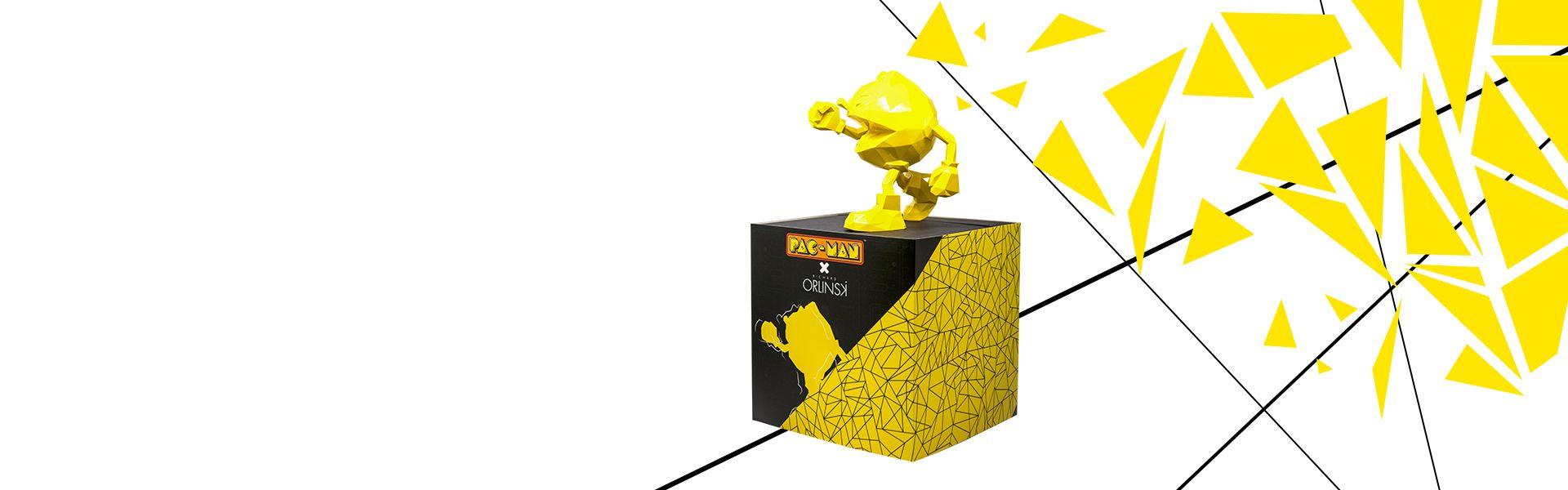 PAC-MAN x Orlinski : Die offizielle Statue