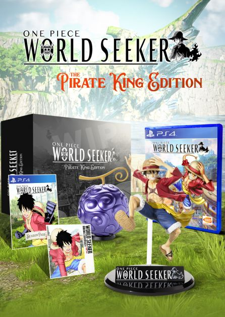 ONE PIECE WORLD SEEKER - PIRATE KING EDITION [PS4]