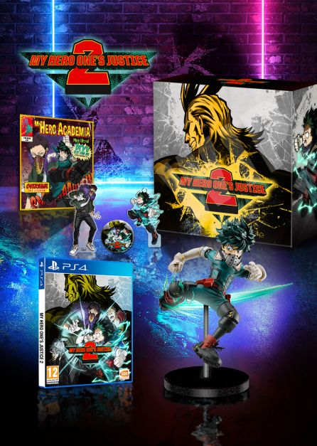 MY HERO ONE'S JUSTICE 2 - Collector's Edition [PS4]