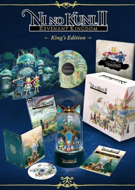 NI NO KUNI II: SCHICKSAL EINES KÖNIGREICHS - KING'S EDITION [PC]