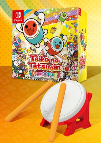 Taiko Drum Set® Box - Tatakon pour Switch