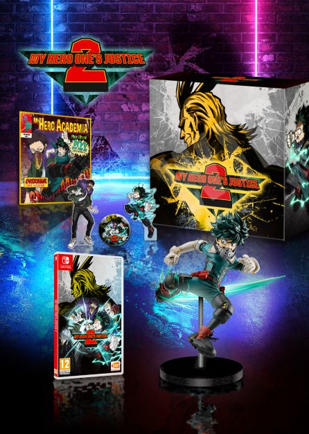 MY HERO ONE'S JUSTICE 2 - Édition Collector [SWITCH]