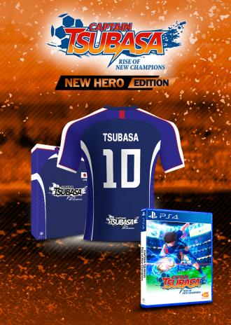CAPTAIN TSUBASA - New Hero Edition - Official jersey [PS4]