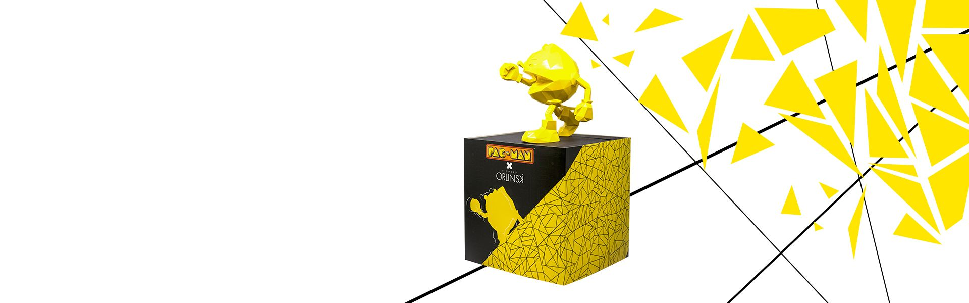 PAC-MAN x Orlinski : La sculpture officielle