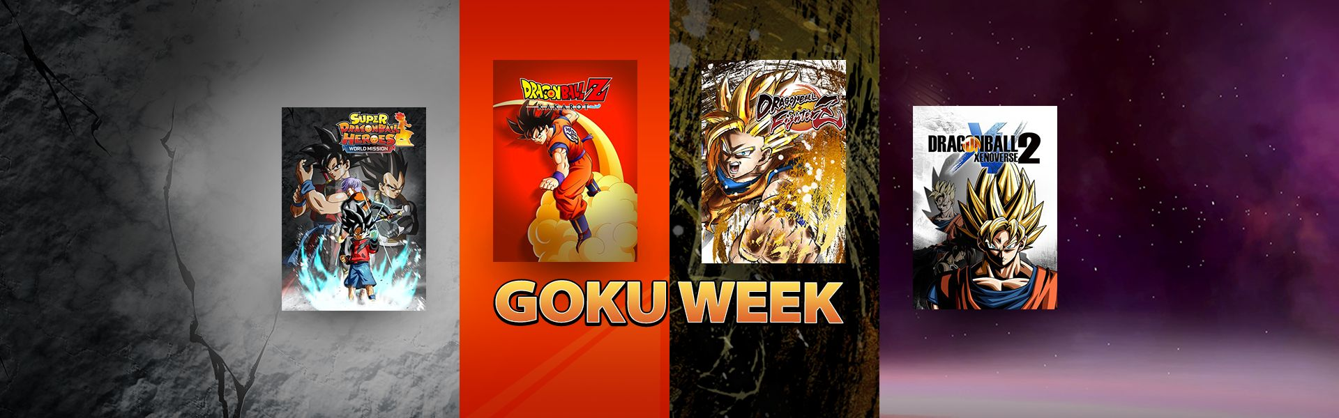 GOKU WEEK: Up to -85% off