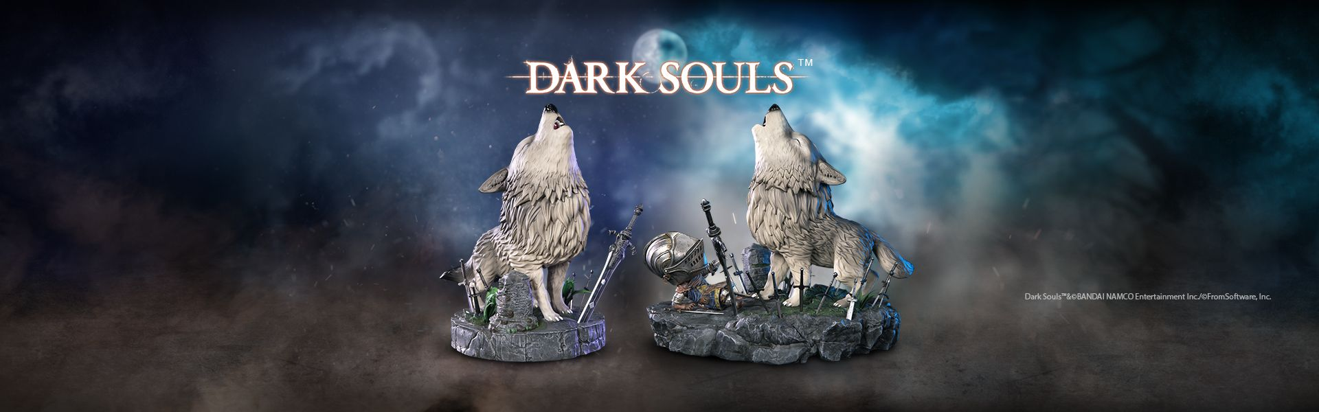 THE GREAT GREY WOLF SIF STATUE