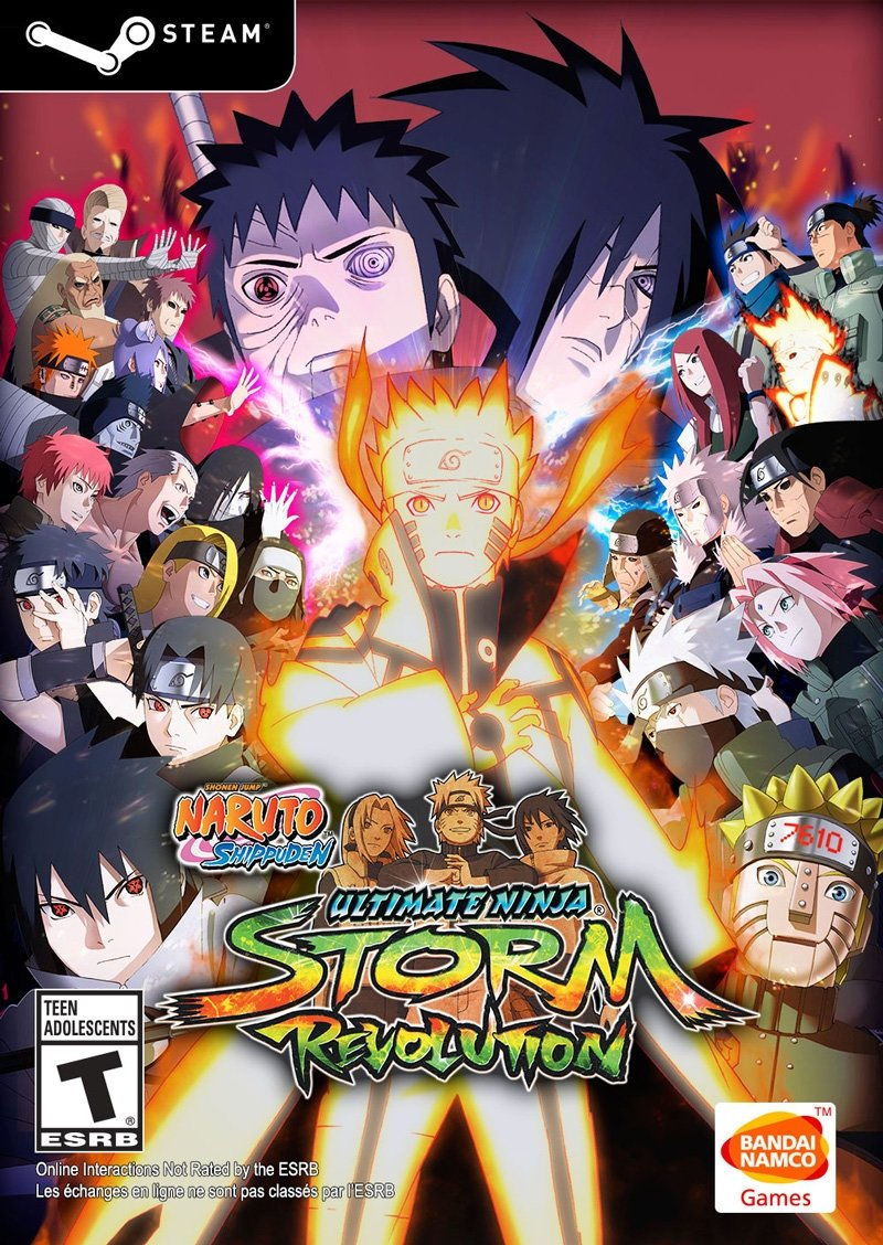 NARUTO SHIPPUDEN: Ultimate Ninja STORM REVOLUTION (Steam Key)