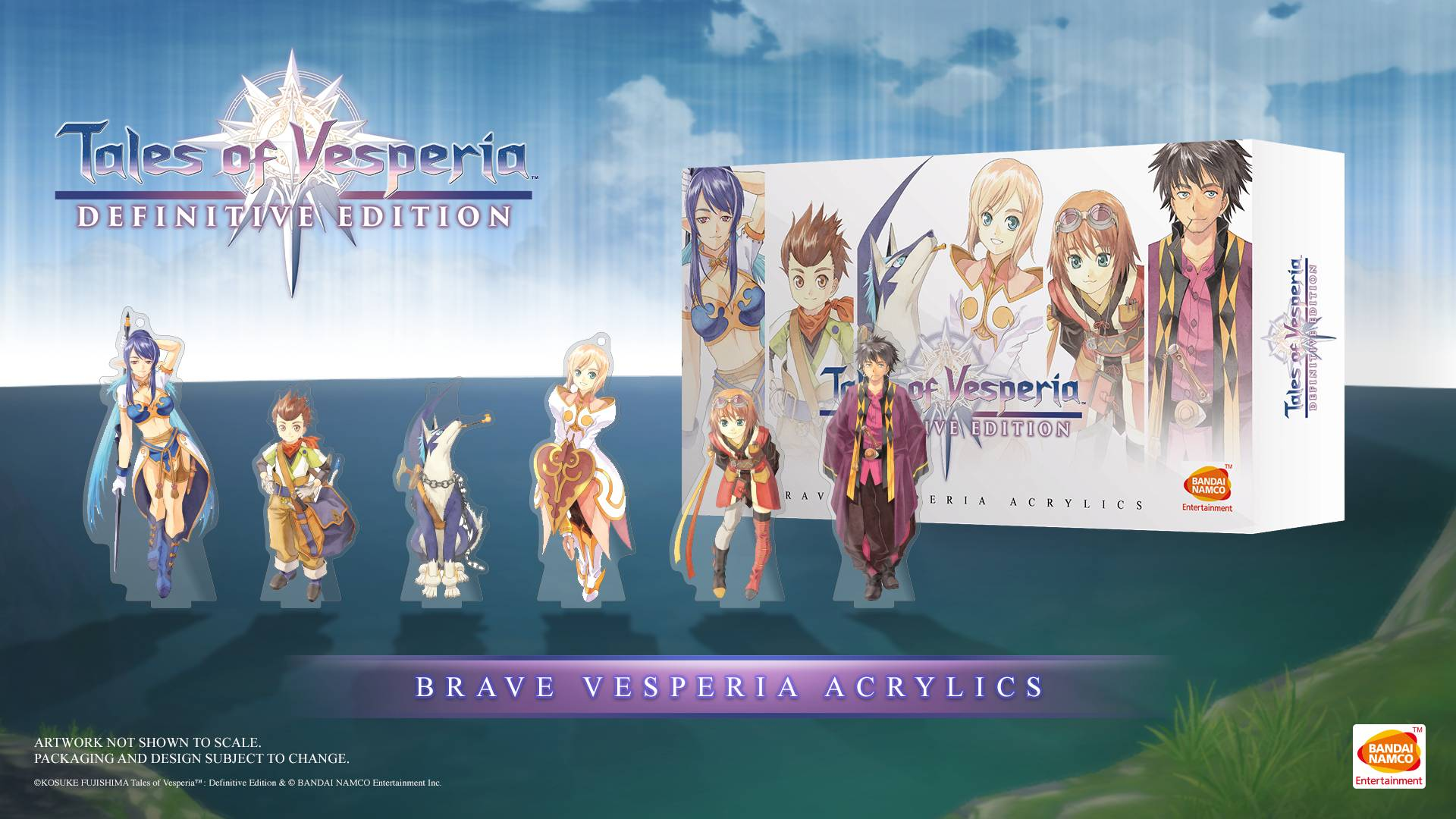 Tales Of Vesperia Definitive Edition Brave Vesperia Acrylics