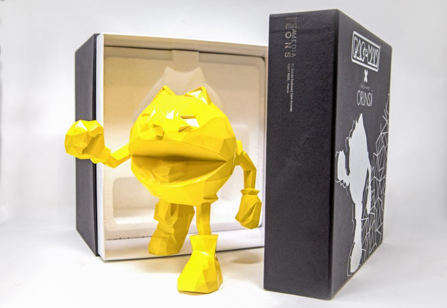 PAC-MAN x Orlinski : The Official Sculpture  - Yellow