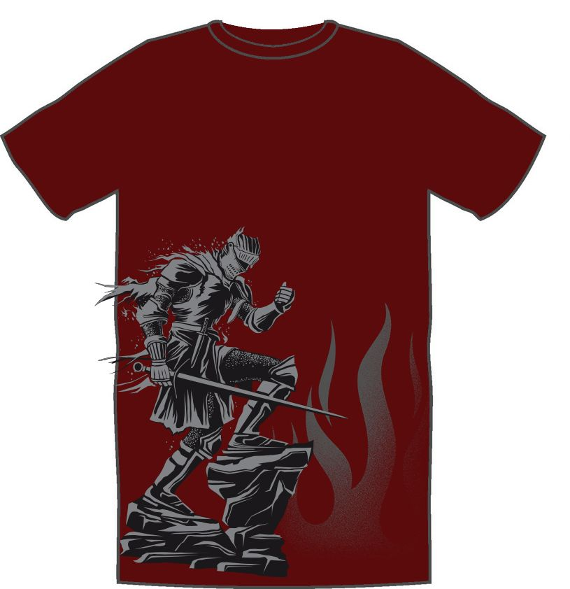 Dark Souls - Cinder T-Shirt - X-Small