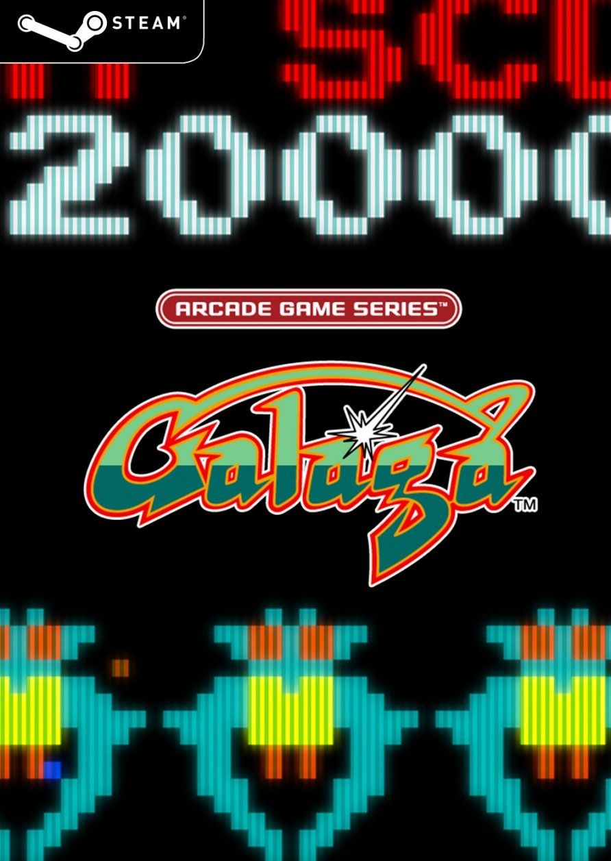 Arcade Game Series: Galaga (Steam Key)