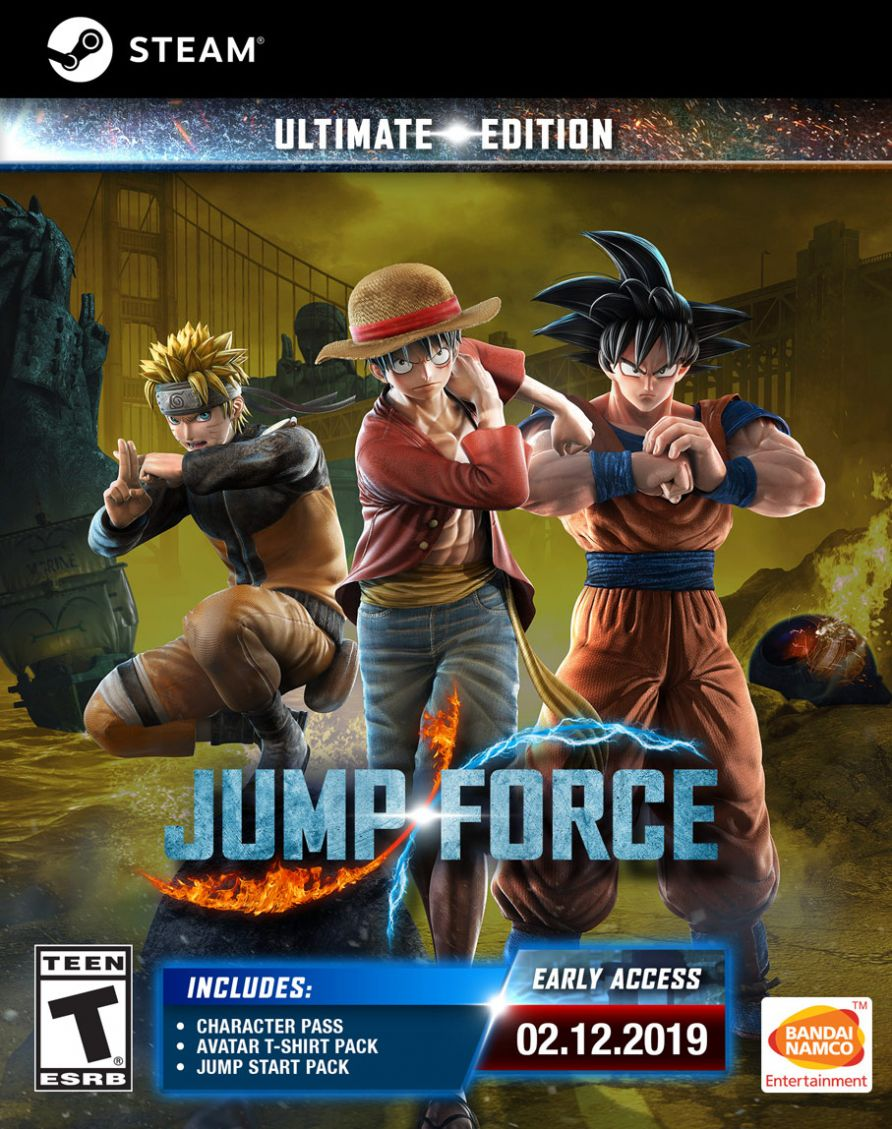 Jump Force Ultimate Edition (Steam)