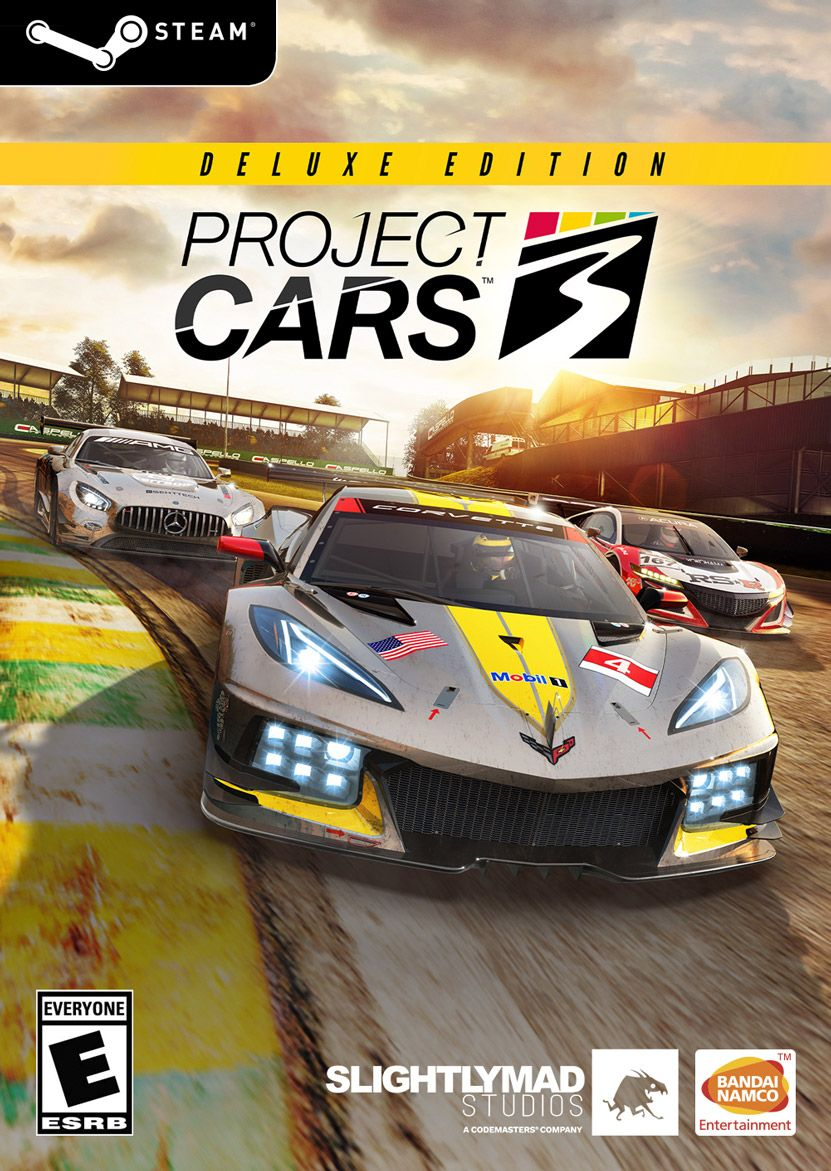 Project Cars 3 Deluxe Edition (STEAM)