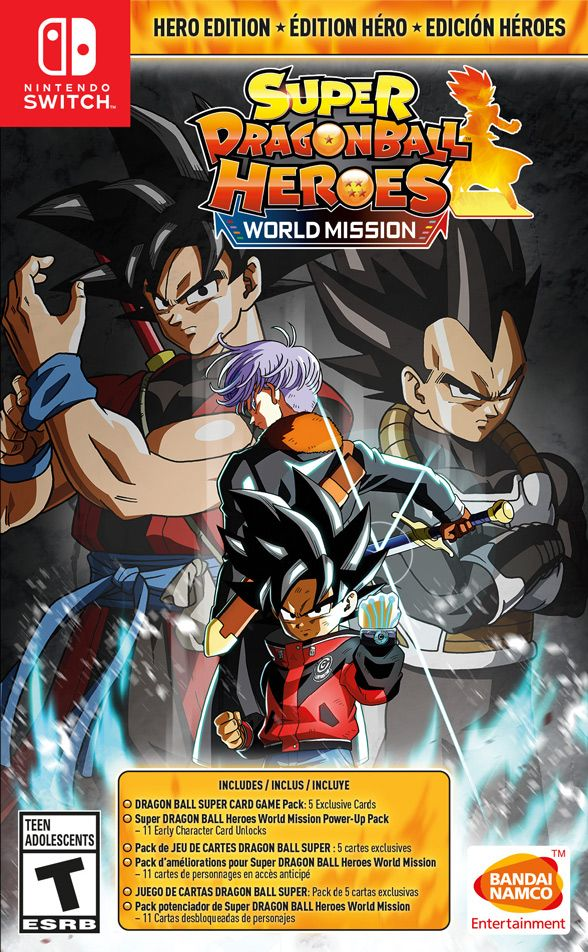 Super DRAGON BALL Heroes: World Mission HERO Edition (Switch)