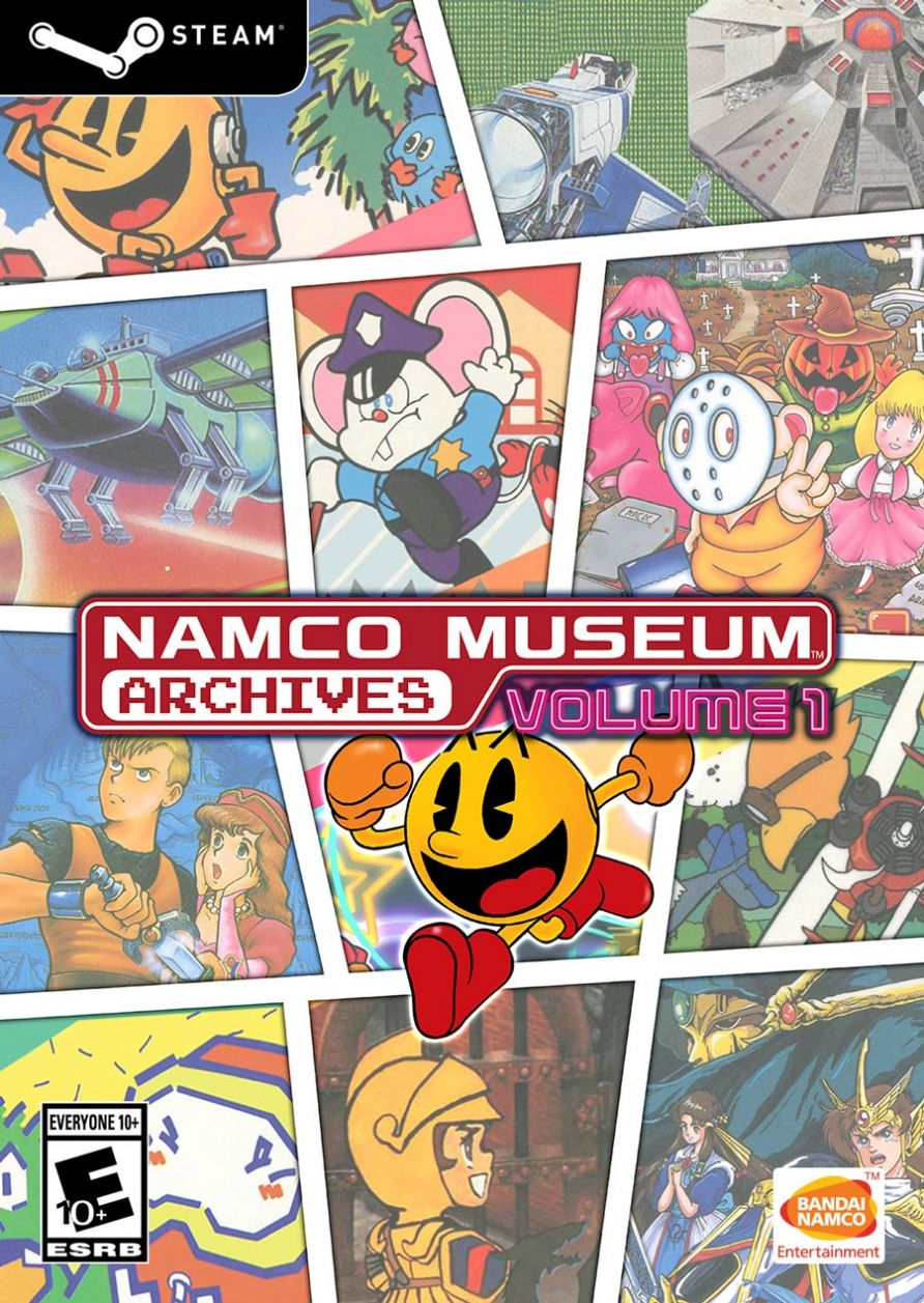 NAMCO MUSEUM ARCHIVES Vol 1 (STEAM)