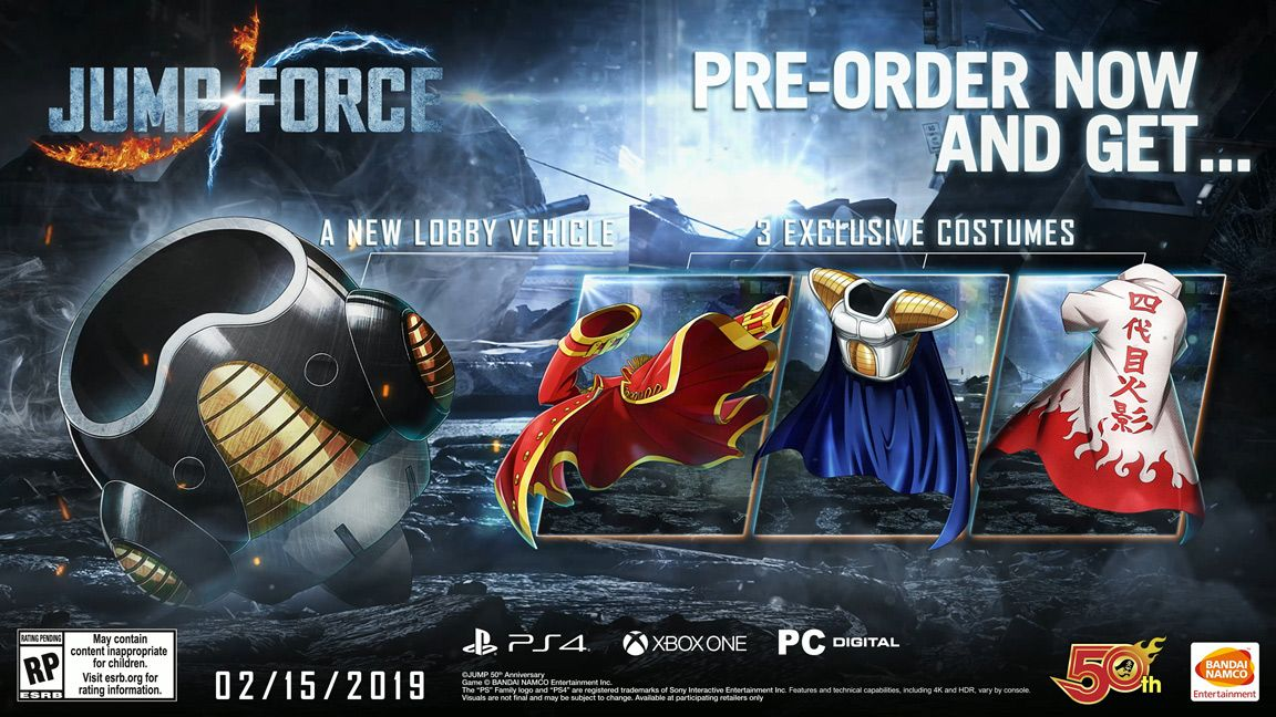 JUMP FORCE Collector\u0027s Edition (XBOX ONE) | Bandai Namco Store