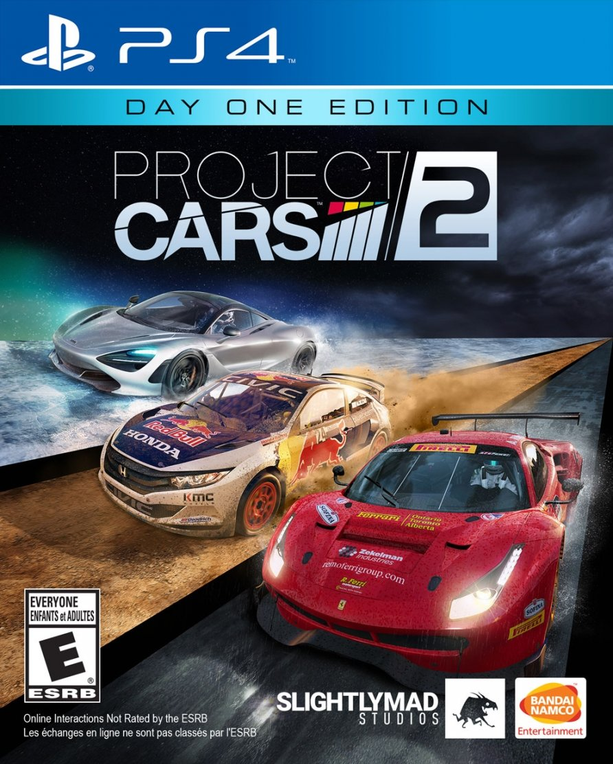 Project Cars 2 Day 1 Edition (PlayStation 4)