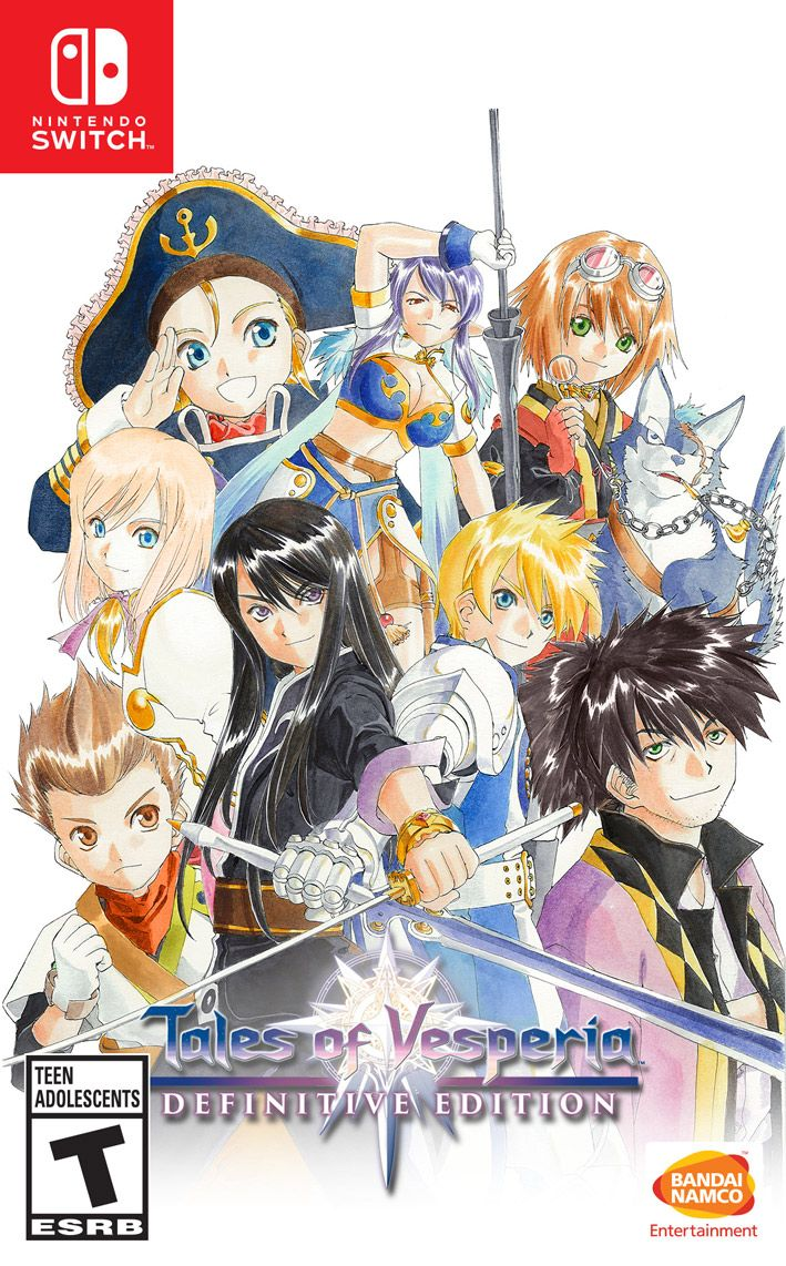 Tales of Vesperia: Definitive Edition - Anniversary Bundle - Nintendo Switch