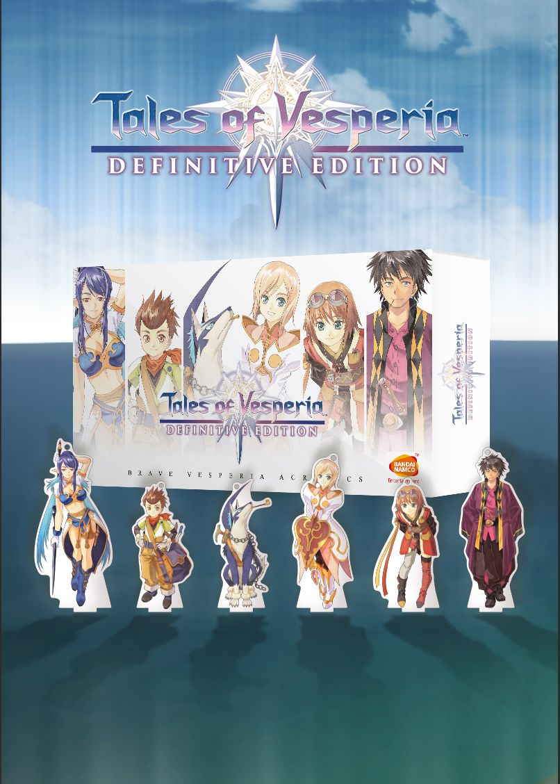Tales of Vesperia: Definitive Edition - Brave Vesperia Acrylics