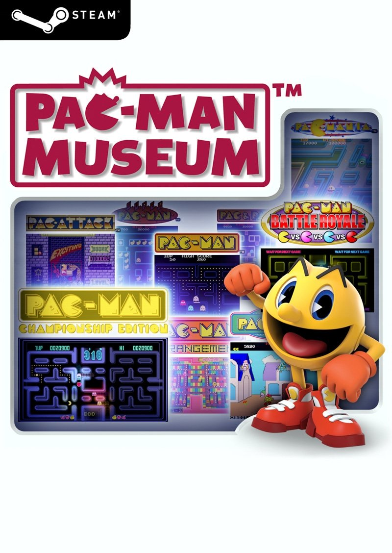 PAC-MAN Museum (Steam Key)