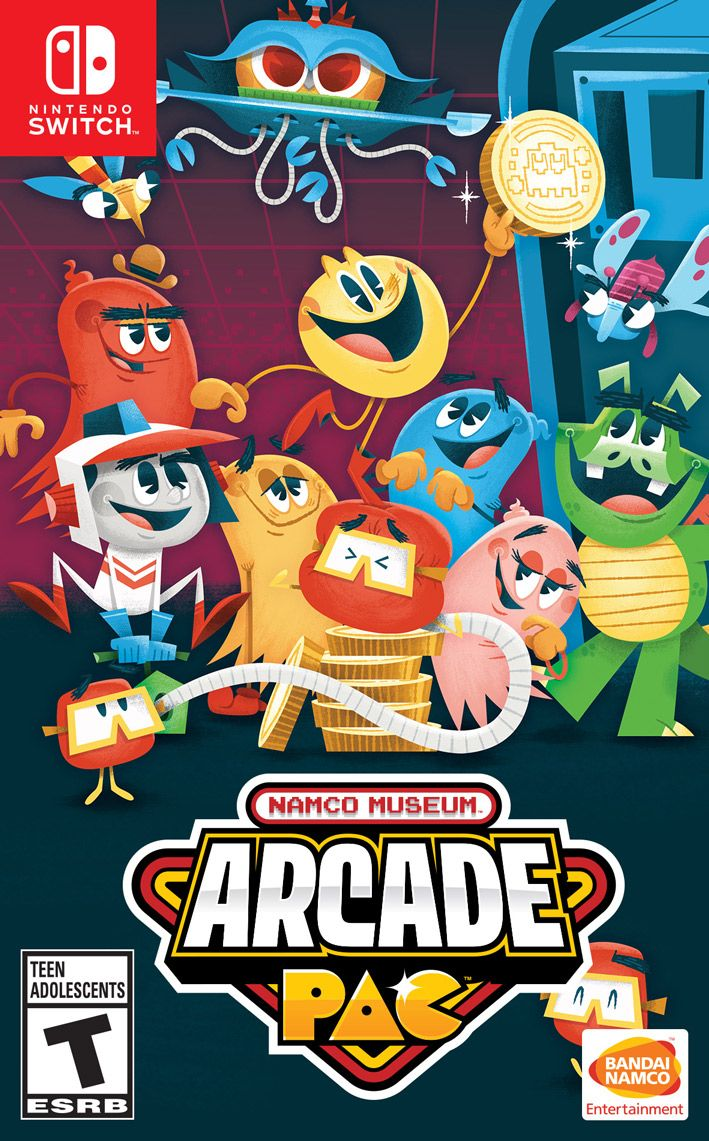 NAMCO MUSEUM™ ARCADE PAC™ (SWITCH)