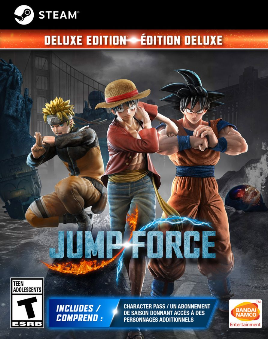 Jump Force Deluxe Edition (Steam)
