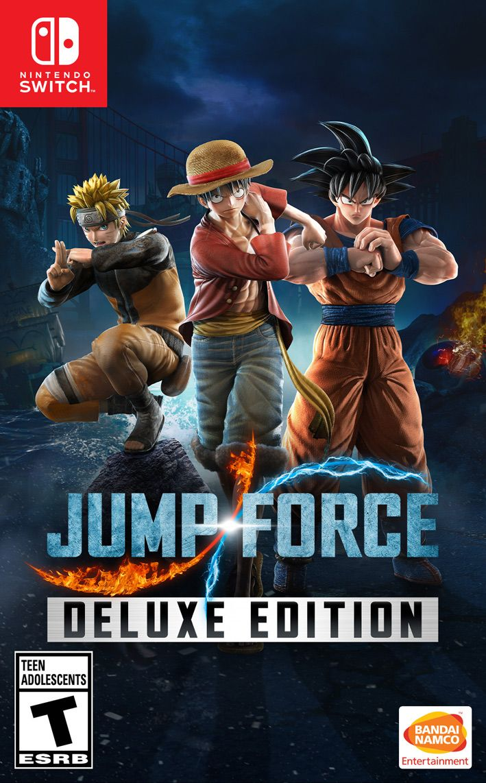 JUMP FORCE DELUXE EDITION (NINTENDO SWTICH)