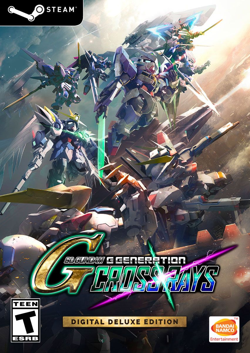 SD GUNDAM G GENERATION CROSS RAYS Deluxe Edition  (Steam)