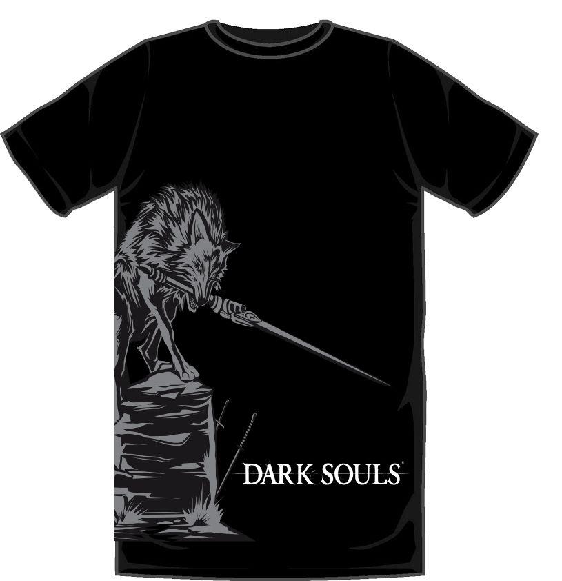 Dark Souls - Sif T-Shirt - Large
