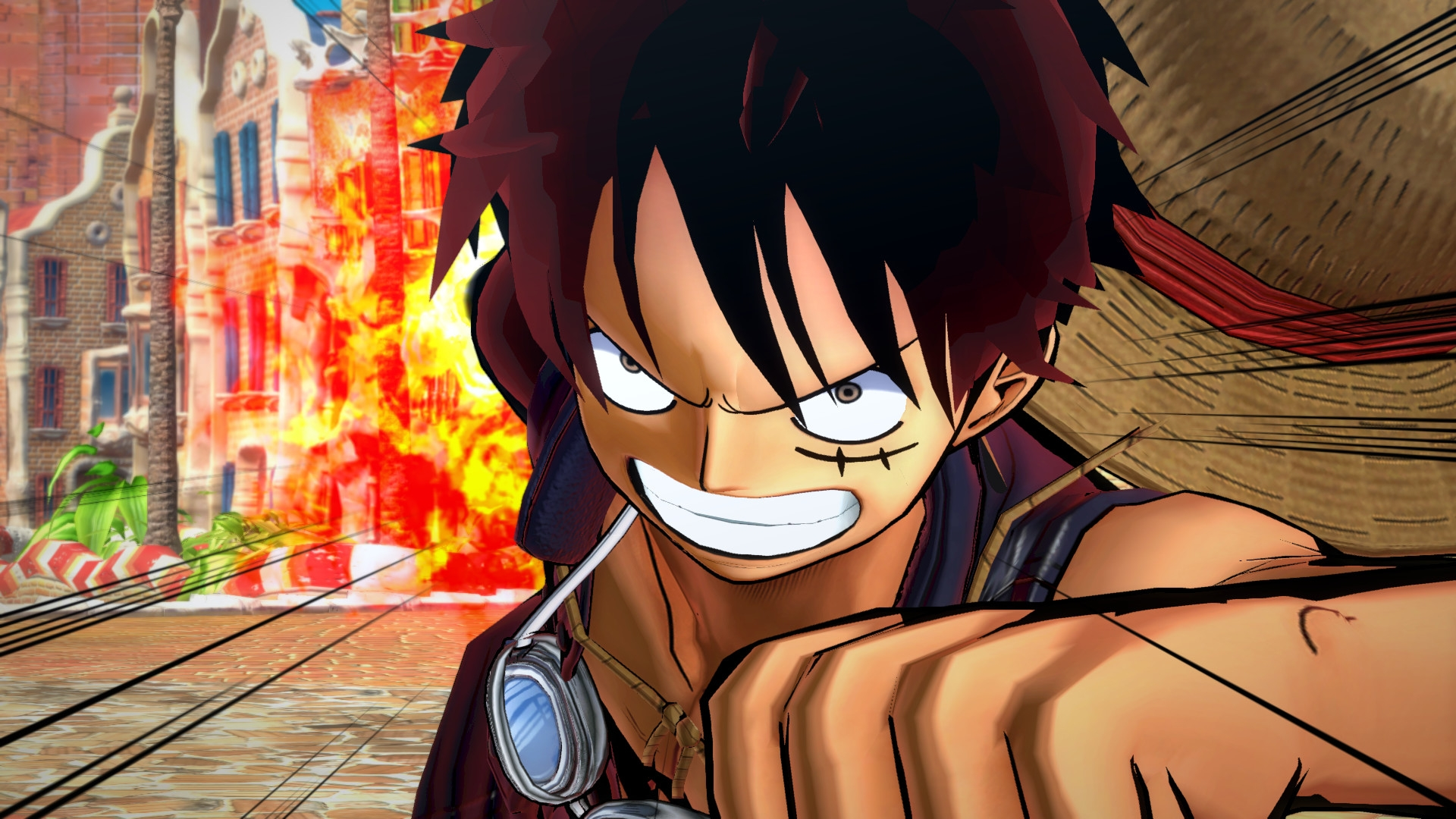 one piece gold burning series