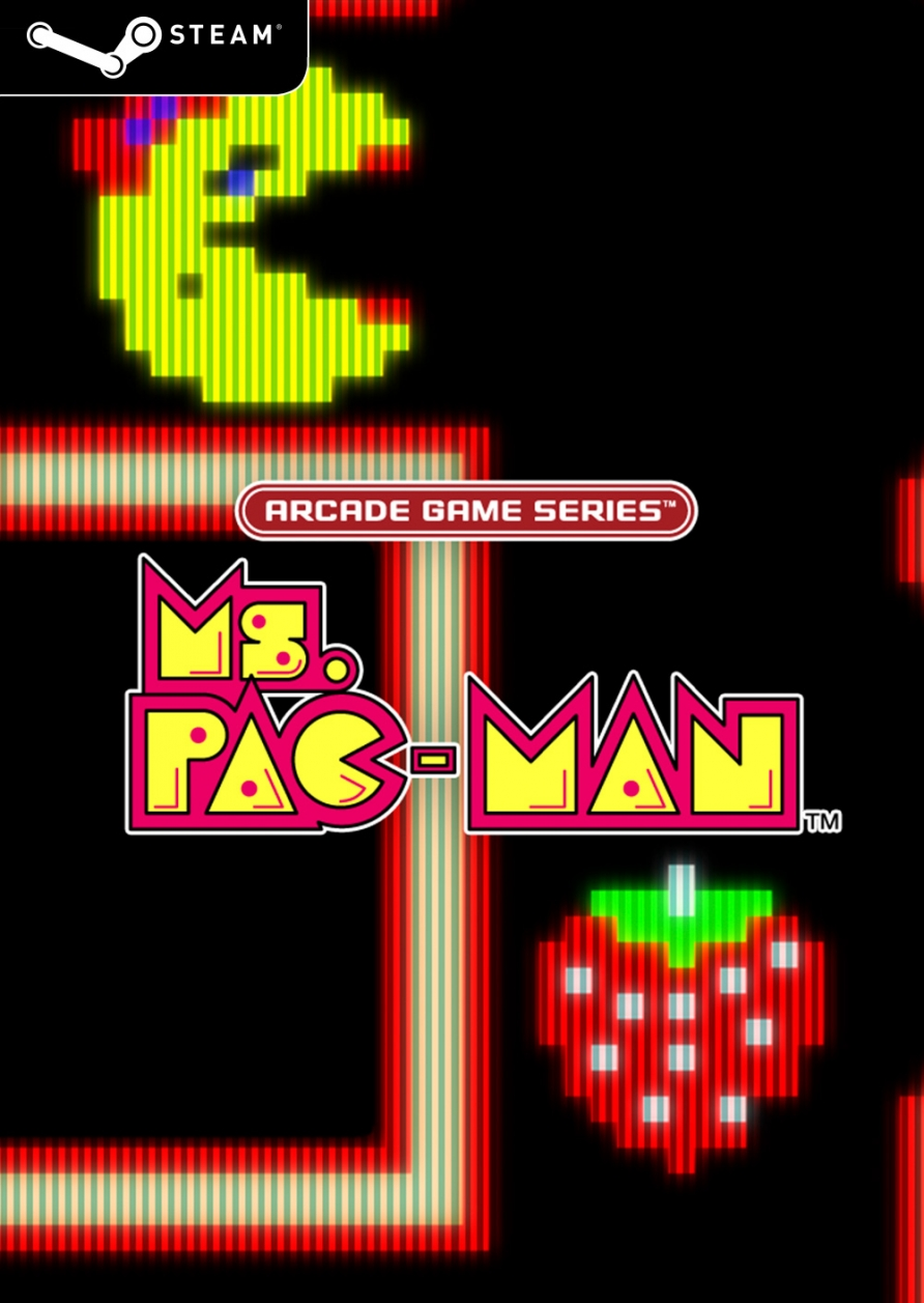 Arcade Game Series: Ms. PAC-MAN (Steam Key)