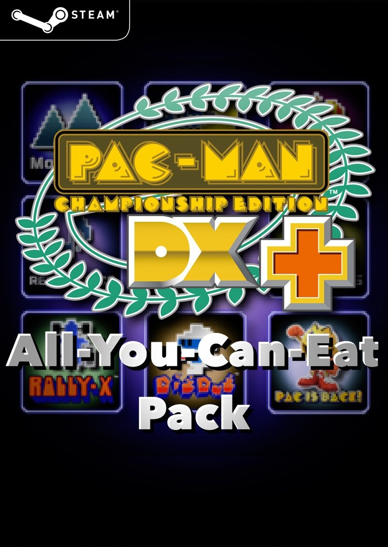 PAC-MAN Championship Edition DX  'All You Can Eat' Pack (Steam Key)