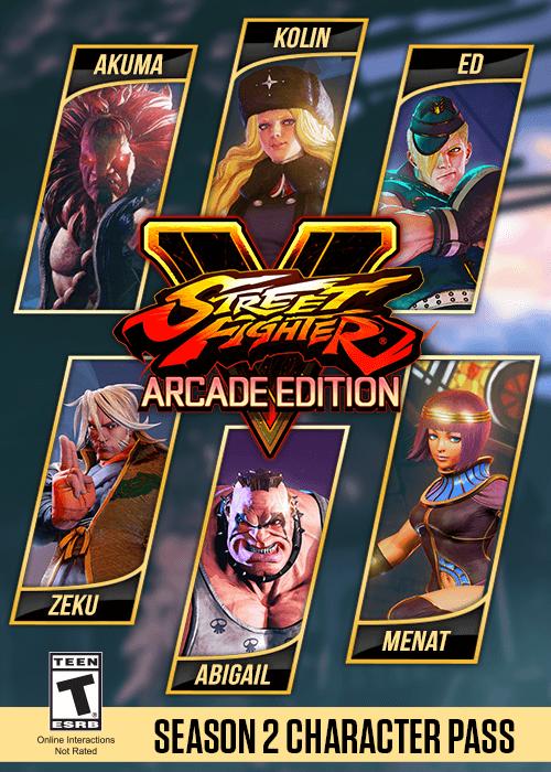 Street Fighter V Season 2 Character Pass [STEAM]   Title