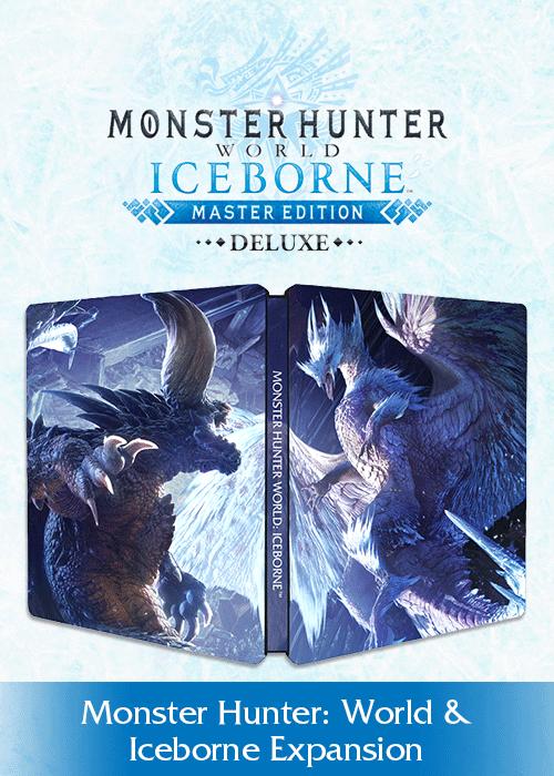 monster hunter world iceborne master edition steelbook