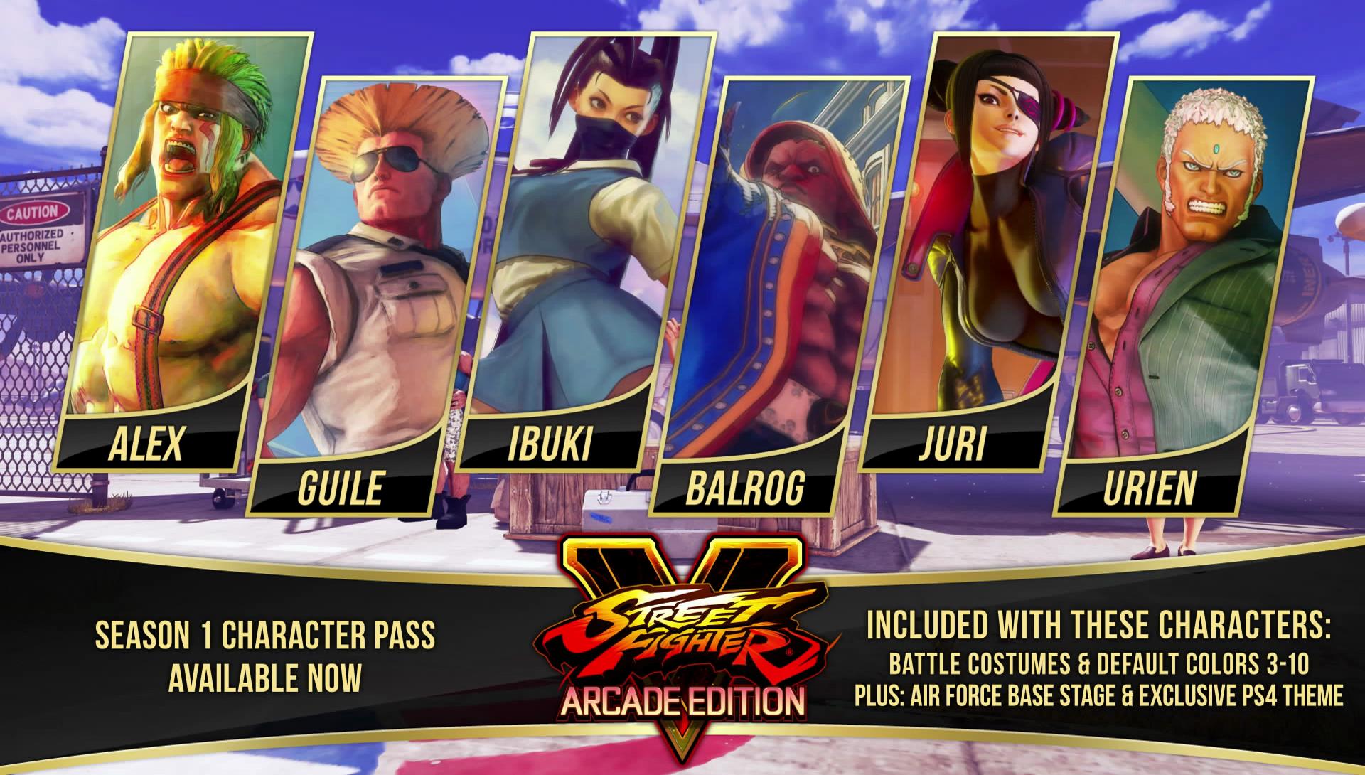 Street Fighter V Season 1 Character Pass [STEAM]